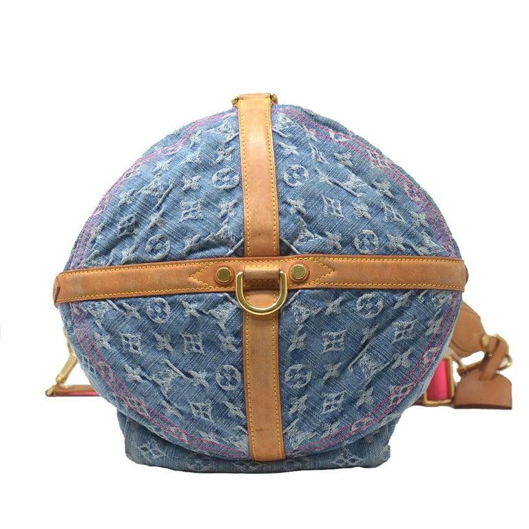 Louis Vuitton Sunburst Pm Denim 2010 Collection Handbag For 1