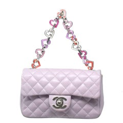 Chanel Mini Lilac Valentine Handbag