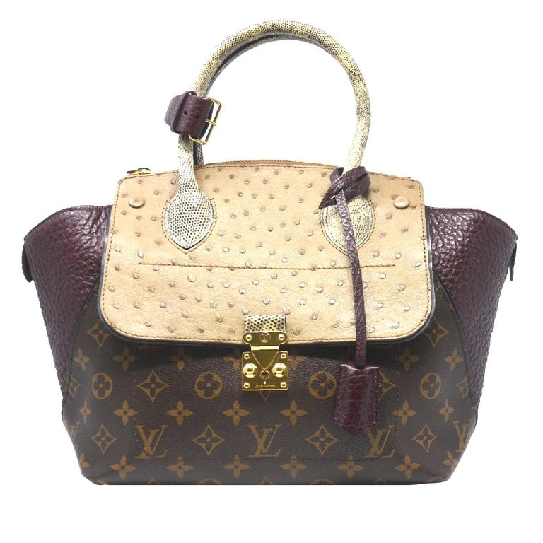 Louis Vuitton Majestueux PM Monogram Handbag Limited Edition
