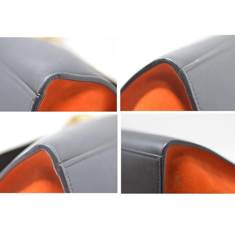 Celine Trapeze Medium Tri-Color Suede and Leather Handbag For Sale 7