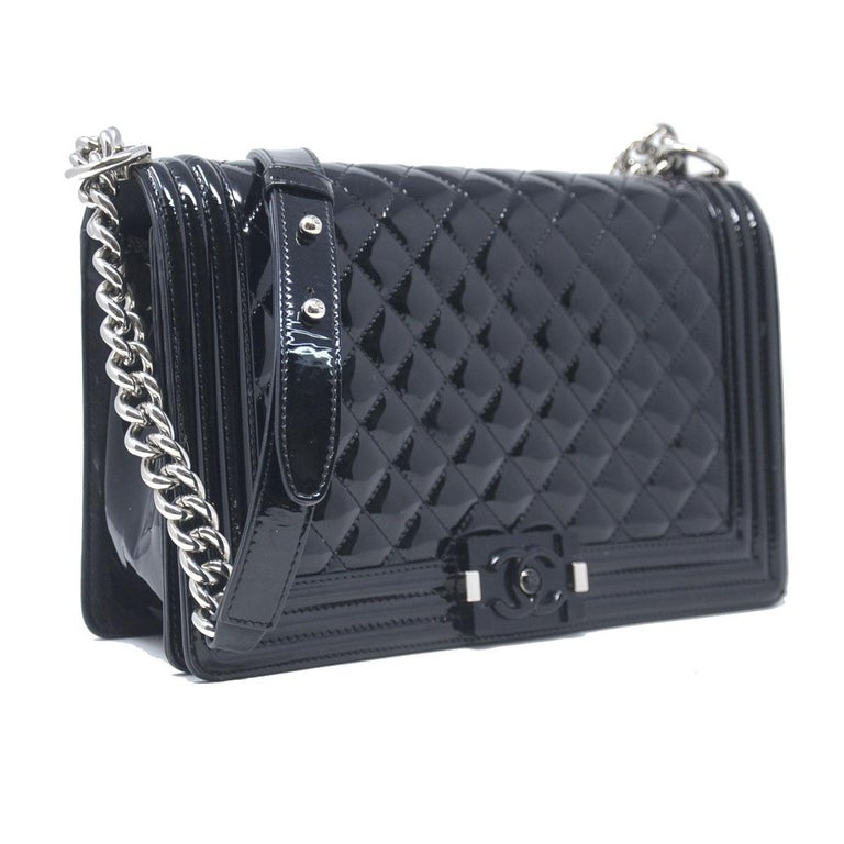 adc0dcb4486d Company-Chanel Model-Le Boy Bag SHW Black Jumbo Color-Black Date Code