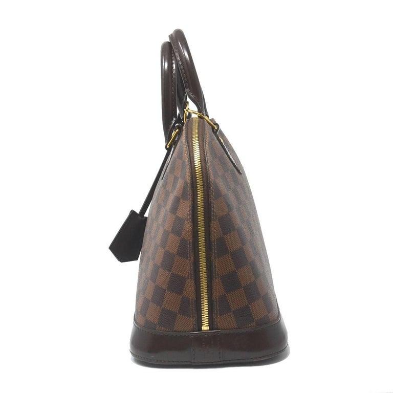 dcea15828838 Company-Louis Vuitton Model-Damier Ebene Alma PM Color-Brown Date Code-