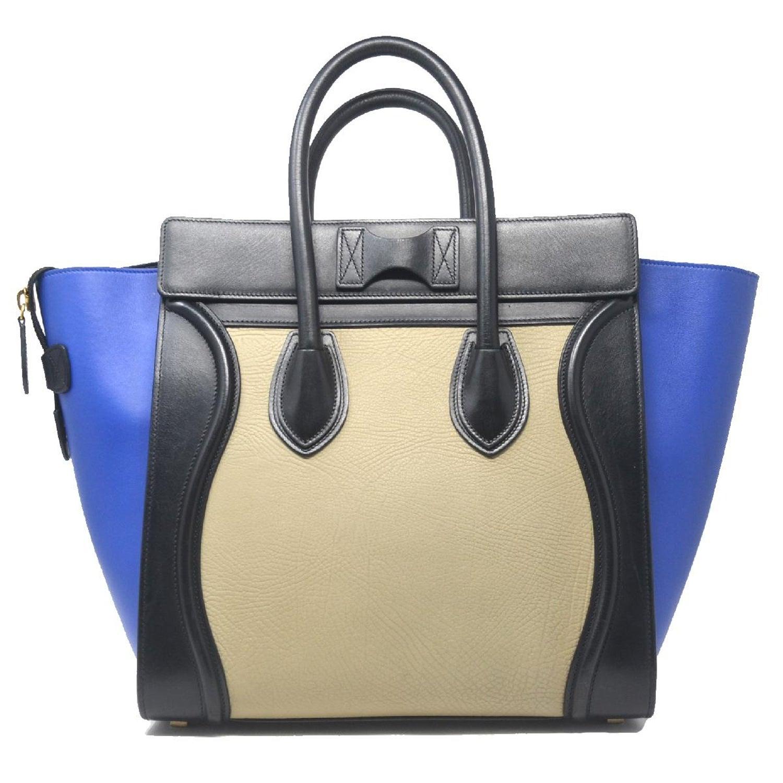b5bfe99d23 Celine Tri-Color Blue