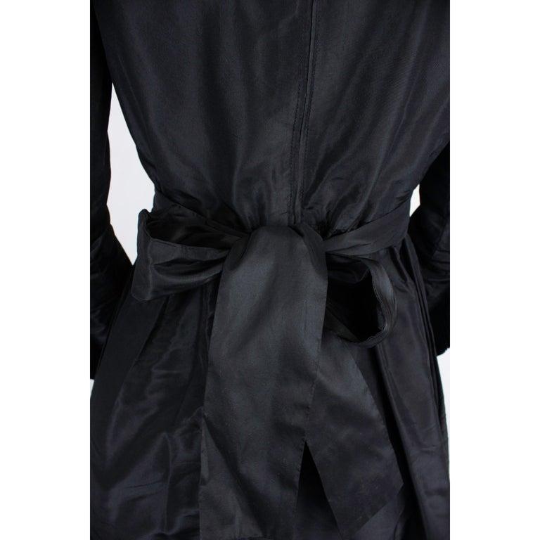 Chanel silk little black dress, Circa 1970 For Sale 3