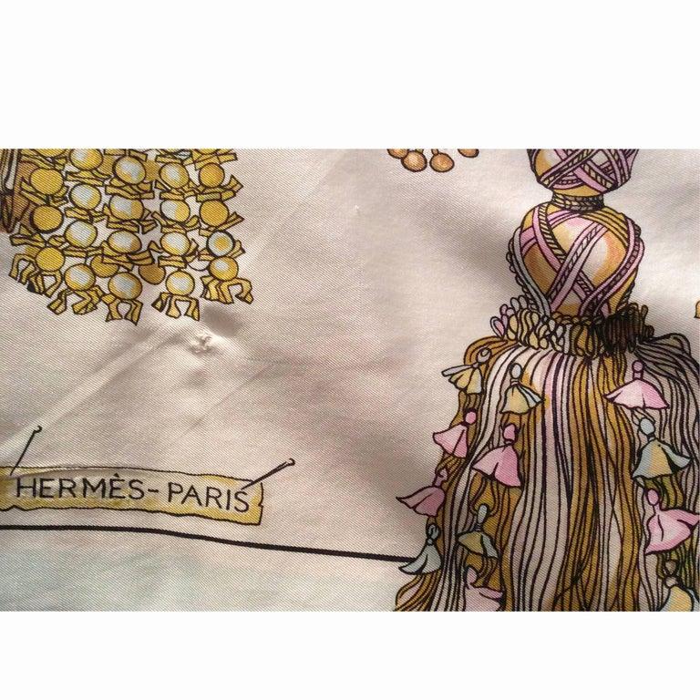 Hermès silk print mini dress. circa 1960 1