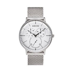 Adexe Stainless Steel They Minimal Silver Wristwatch