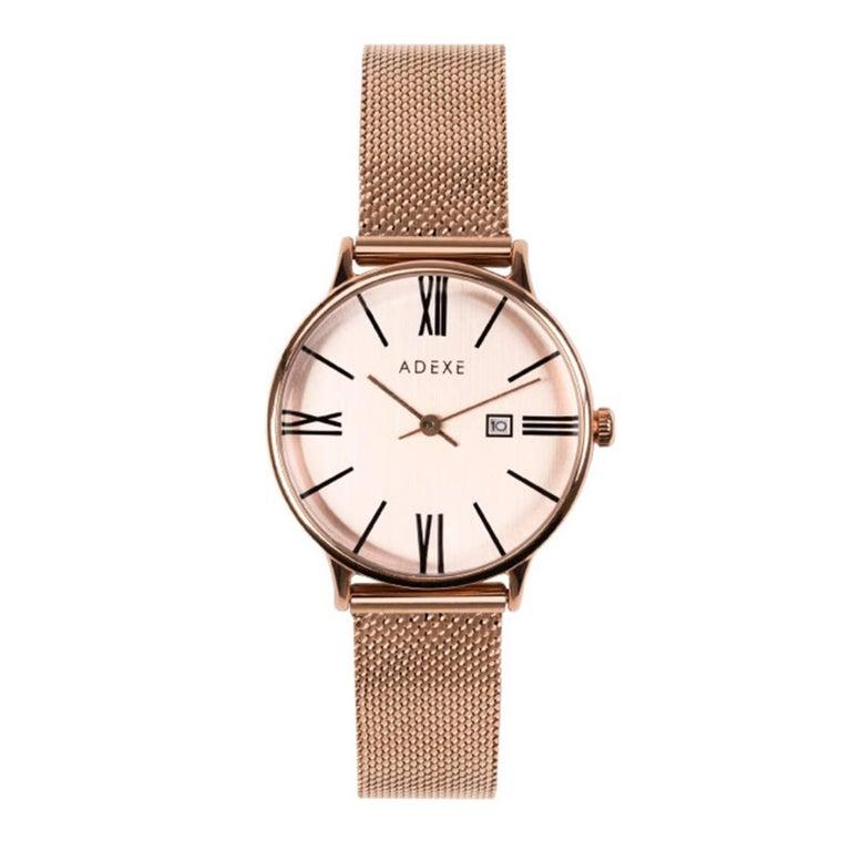 Adexe watches meek petite rosegold minimal wrist watch for for Minimal art wrist watch