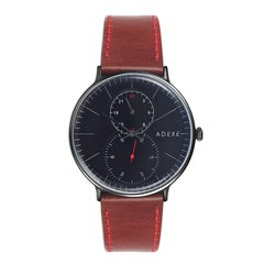 ADEXE Watches Foreseer Black & Brown