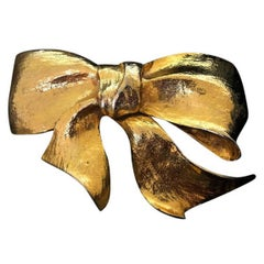 Christopher Ross Ribbon Bow Belt Buckle, 1983