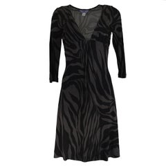 New with tag Fora Kung printed silk jersey 3/4 sleeve dress