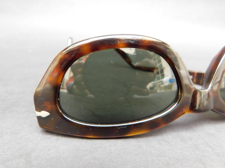 Persol Model 2572-s Brown Tortoise Sunglasses For Sale 3
