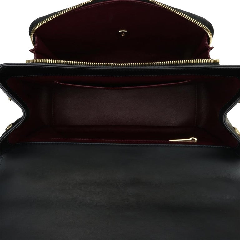 CHANEL Business Affinity Large Black Caviar with Champagne Hardware 2017 For Sale 12