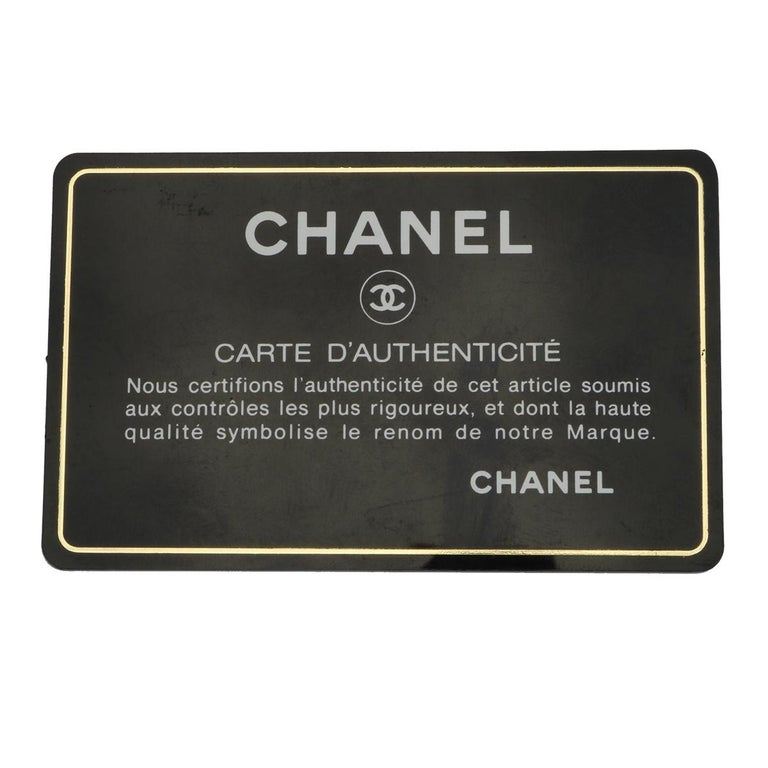 CHANEL Classic Single Flap Jumbo Beige Clair Caviar with Gold Hardware 2009 For Sale 15