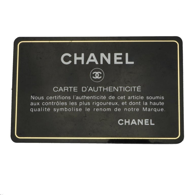 CHANEL Black Caviar Maxi Single Flap with Gold Hardware 2009 For Sale 15