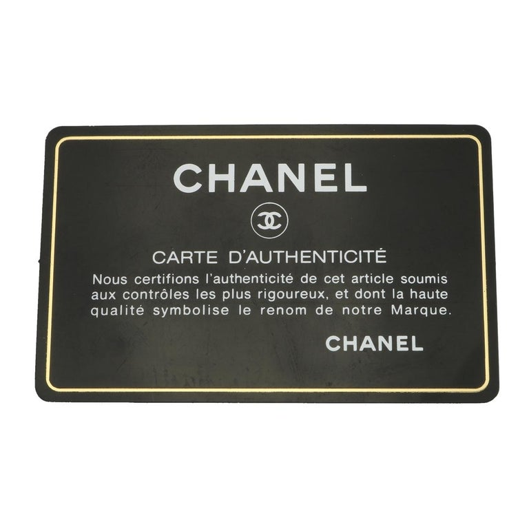 CHANEL Black Lambskin Maxi Double Flap with Gold Hardware 2012 For Sale 16