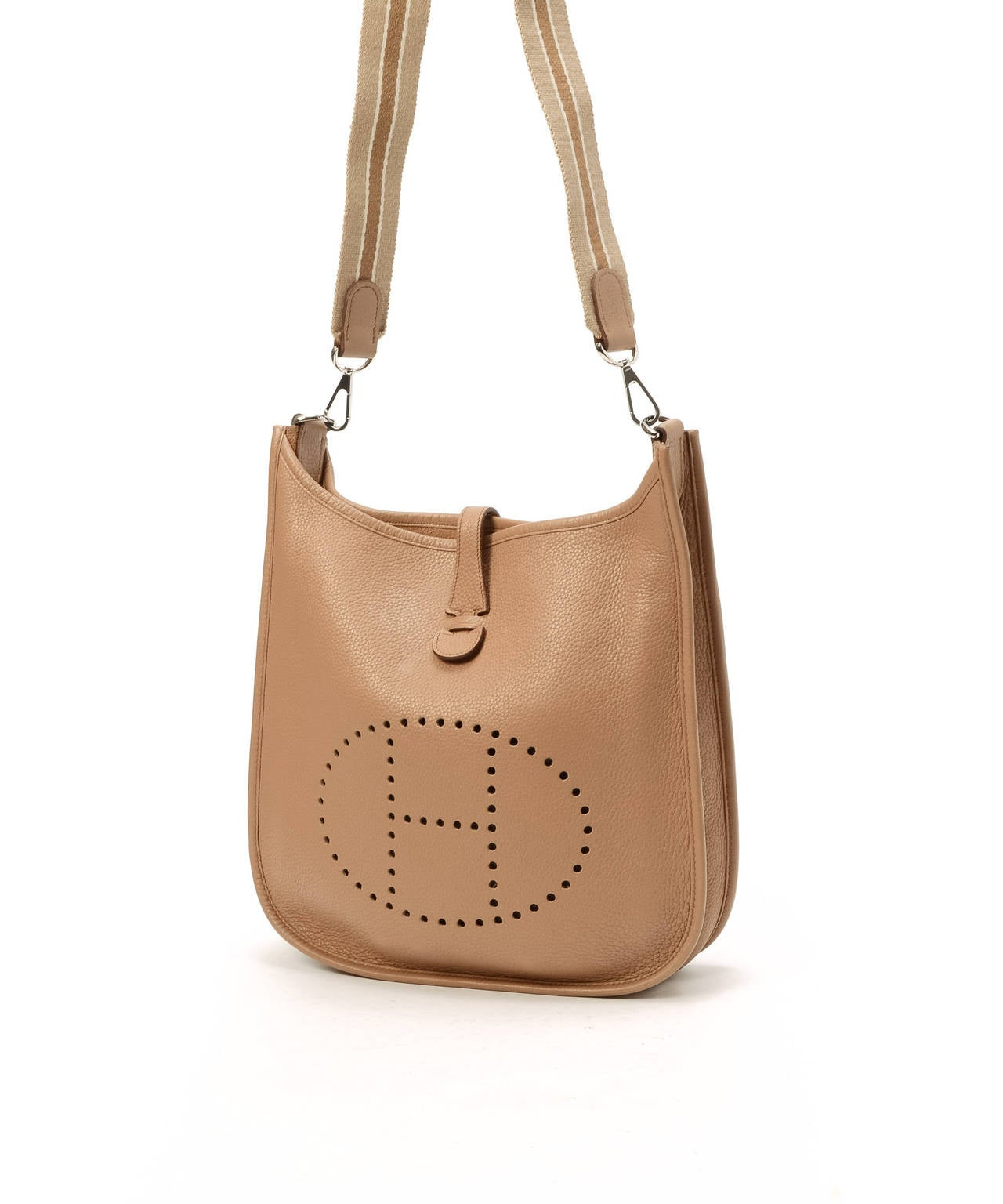 so kelly hermes bag - Herm��s Tabac-Camel Evelyne II PM in Taurillon Cl��mence at 1stdibs