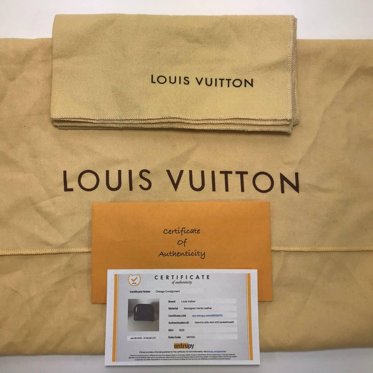 MODEL - Louis Vuitton Vernis Alma BB in Amarante Satchel  CONDITION - Exceptional.  Looks almost new!  Very very minor corner scuffing. 	 SKU - 1829 	 ORIGINAL RETAIL PRICE - 1820 + tax 	 DATE/SERIAL CODE - MI2100 	 ORIGIN - France 	 PRODUCTION -