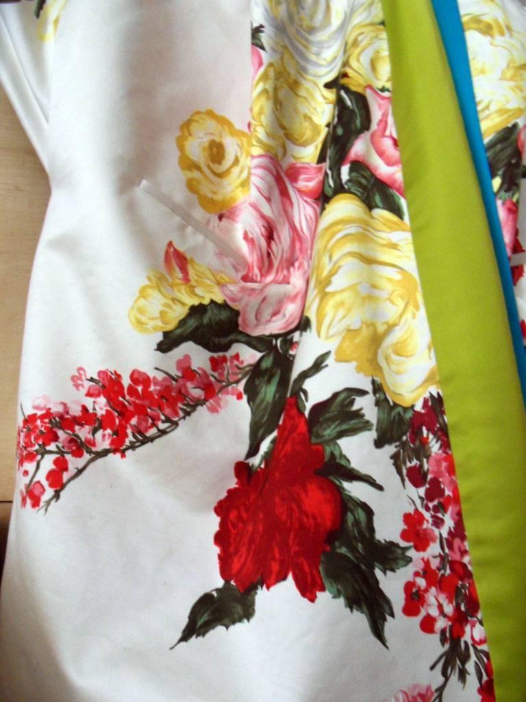 Haute couture ,Kenzo by antonio marras ,dress coat cape , kimono-inspired For Sale 1