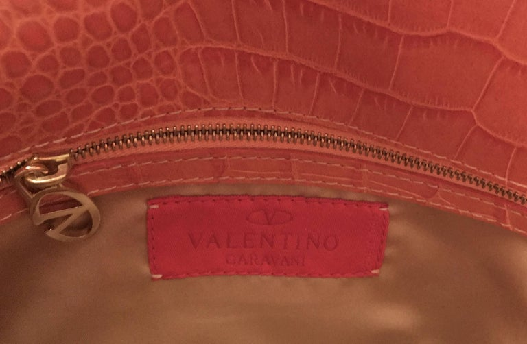 Valentino  Haute Couture Silk and leather Evening Handbag  For Sale 5