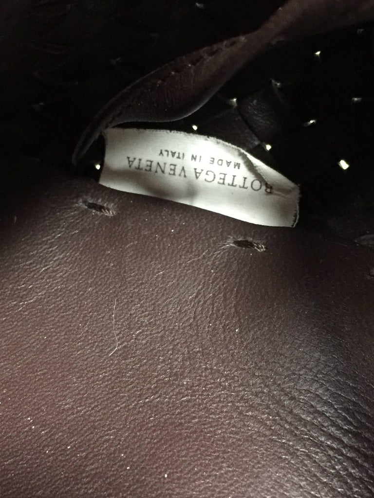 Bottega Veneta Cabat Espresso Lambskin Leather Shopping Tote Bag For Sale 3