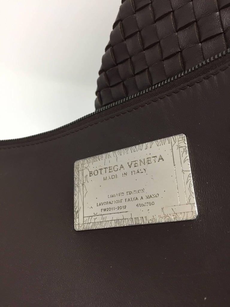 Bottega Veneta Cabat Espresso Lambskin Leather Shopping Tote Bag For Sale 7