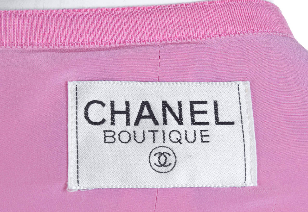 Chanel Suit in Pink and Creme Documented 6