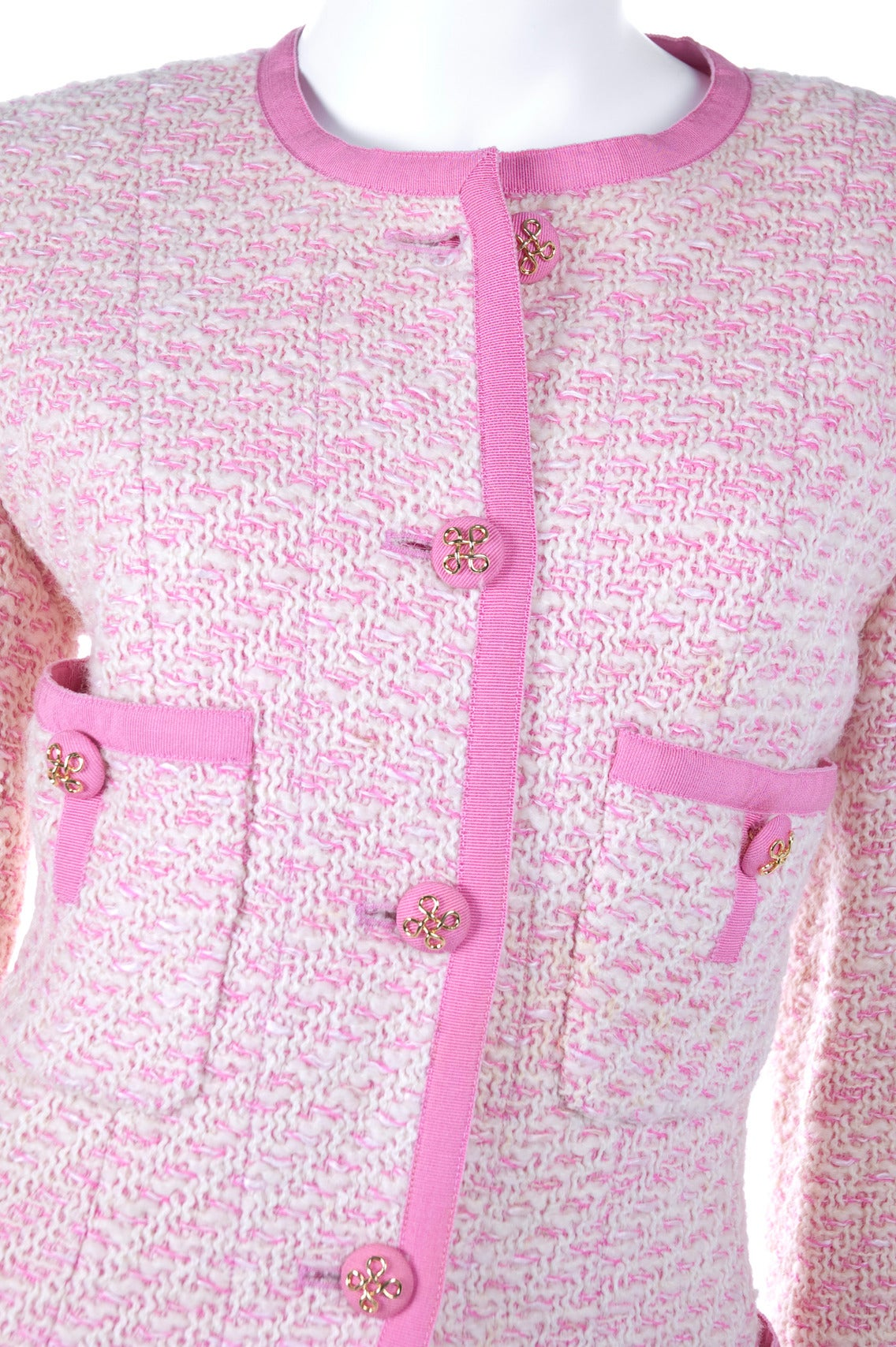 Chanel Suit in Pink and Creme Documented 2
