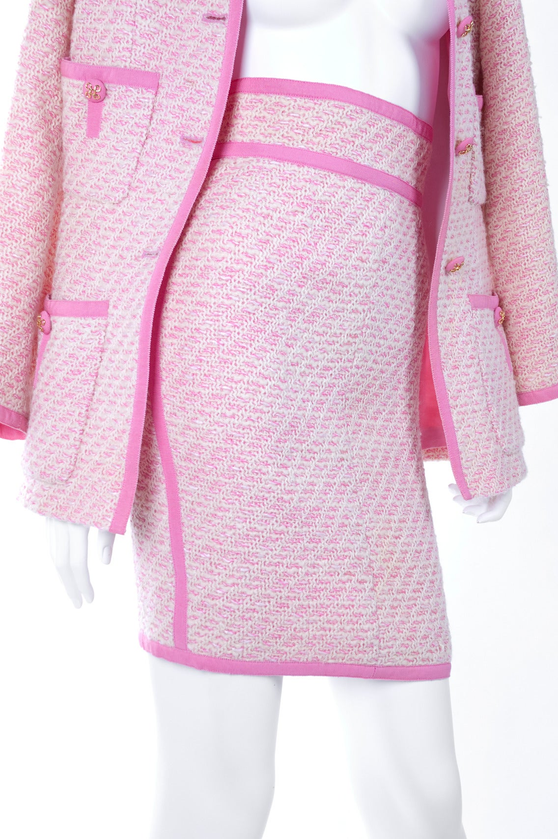 Chanel Suit in Pink and Creme Documented 5