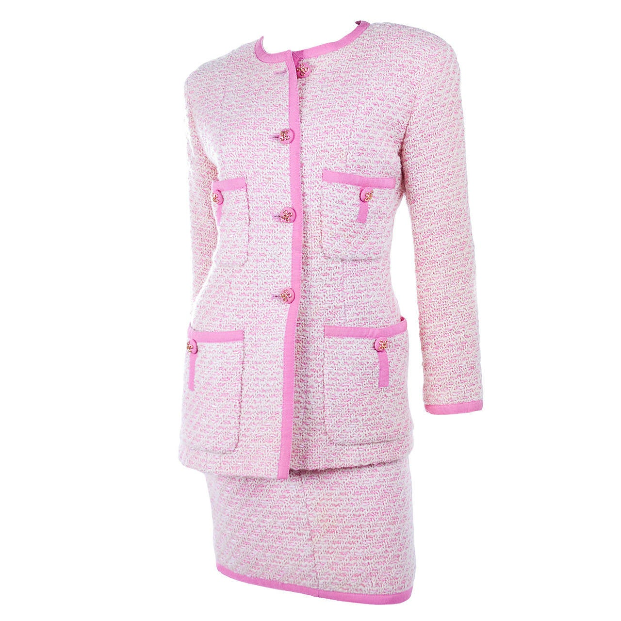 Chanel Suit in Pink and Creme Documented