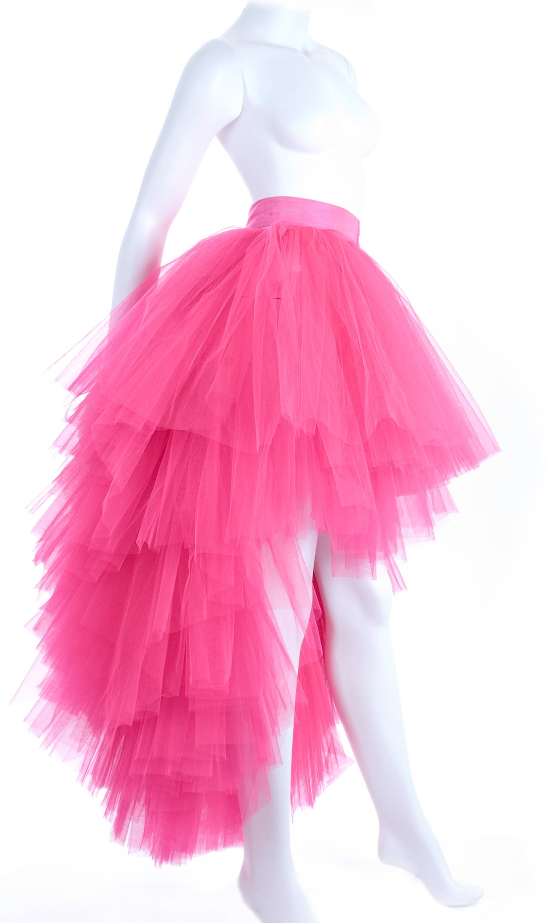 All About Eve Couture by Talbot Runhof Tulle Skirt 3