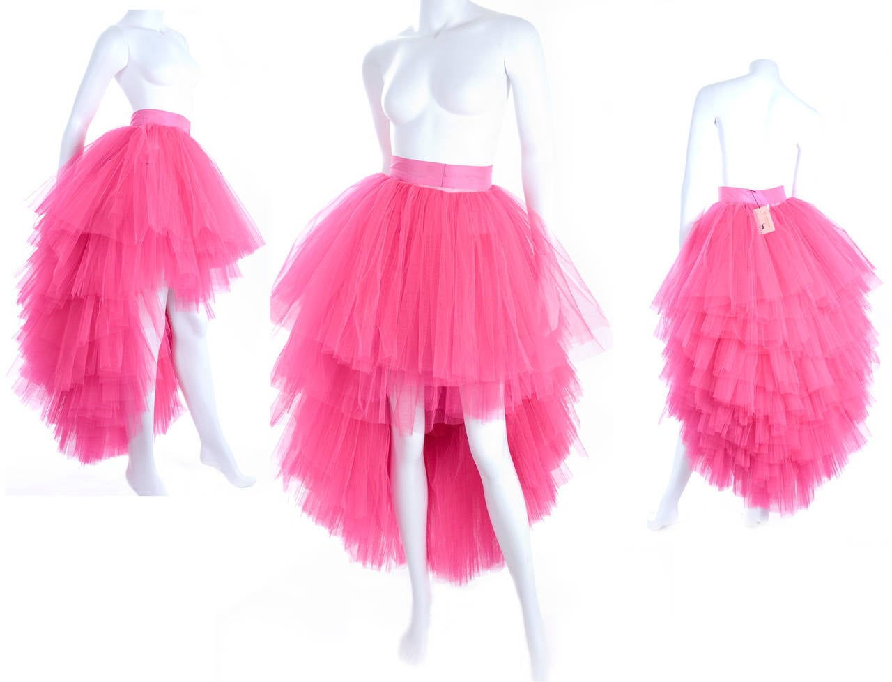 All About Eve Couture by Talbot Runhof Tulle Skirt 2