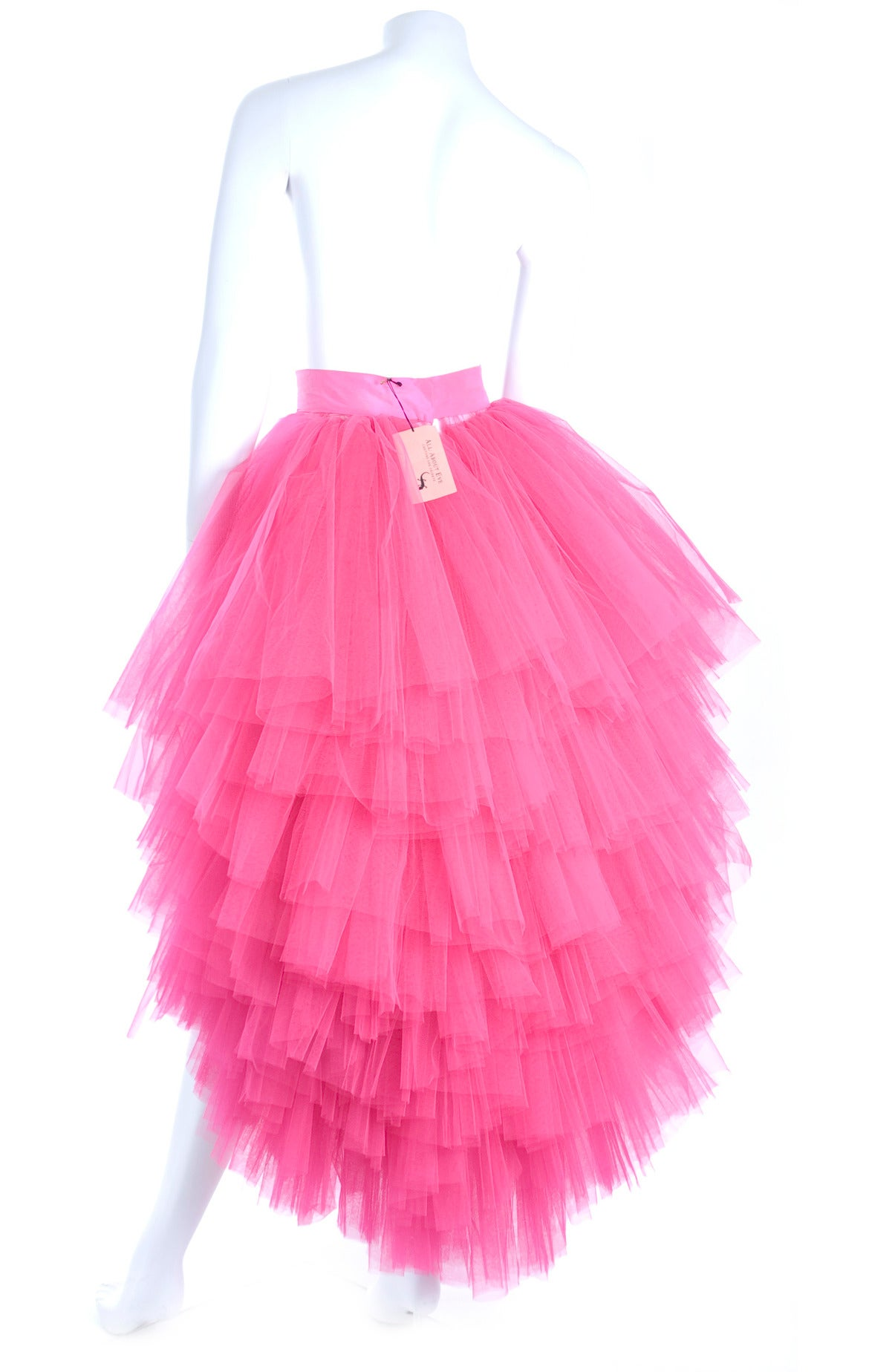 All About Eve Couture by Talbot Runhof Tulle Skirt 6
