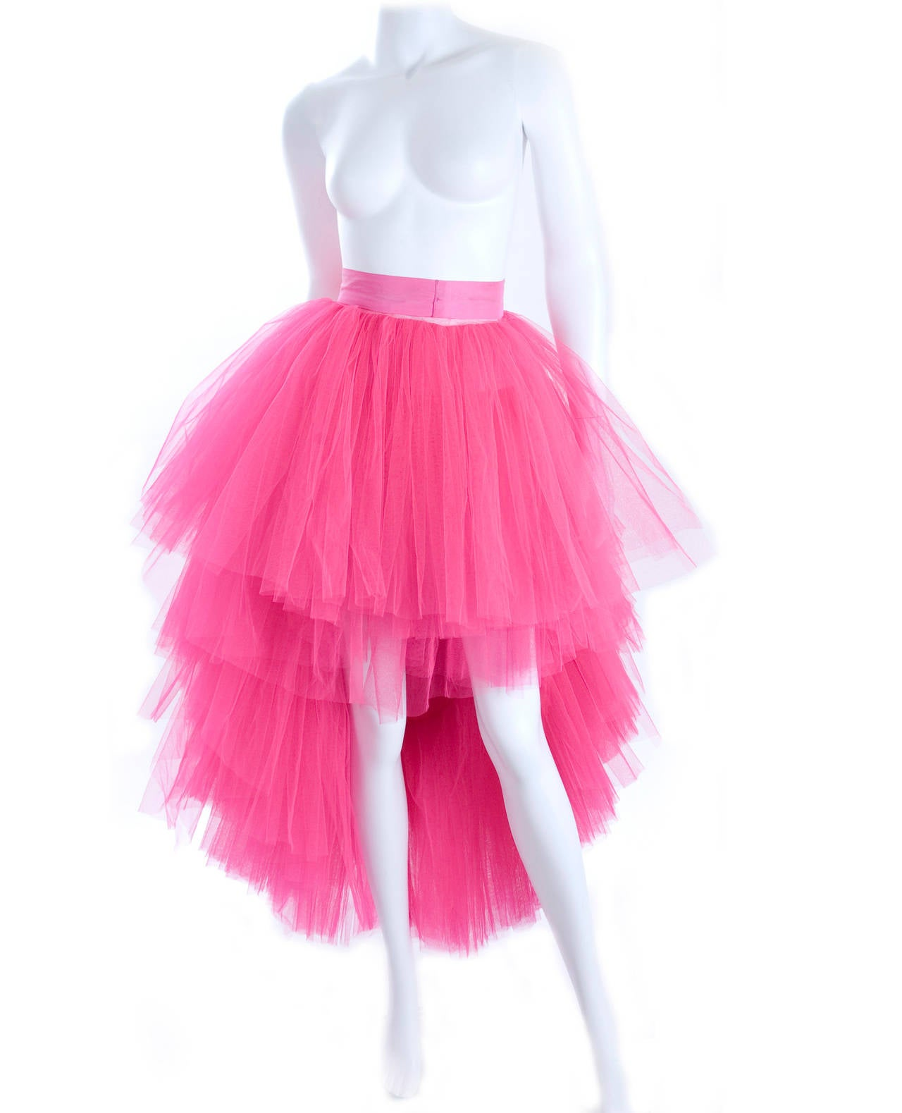 All About Eve Couture by Talbot Runhof Tulle Skirt 5