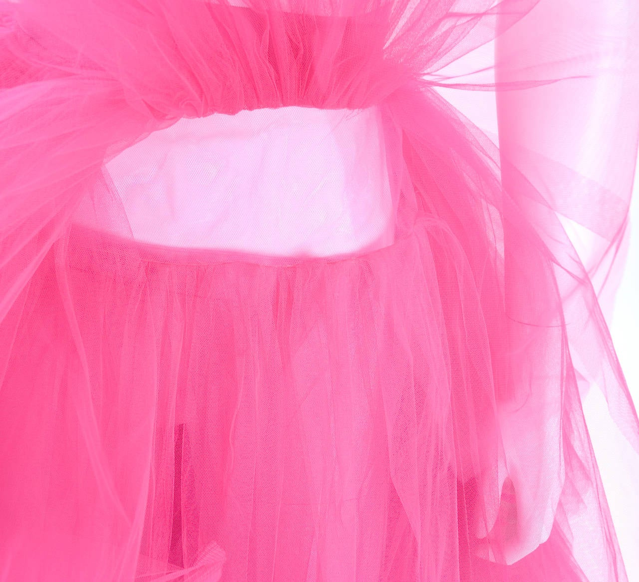 All About Eve Couture by Talbot Runhof Tulle Skirt 8