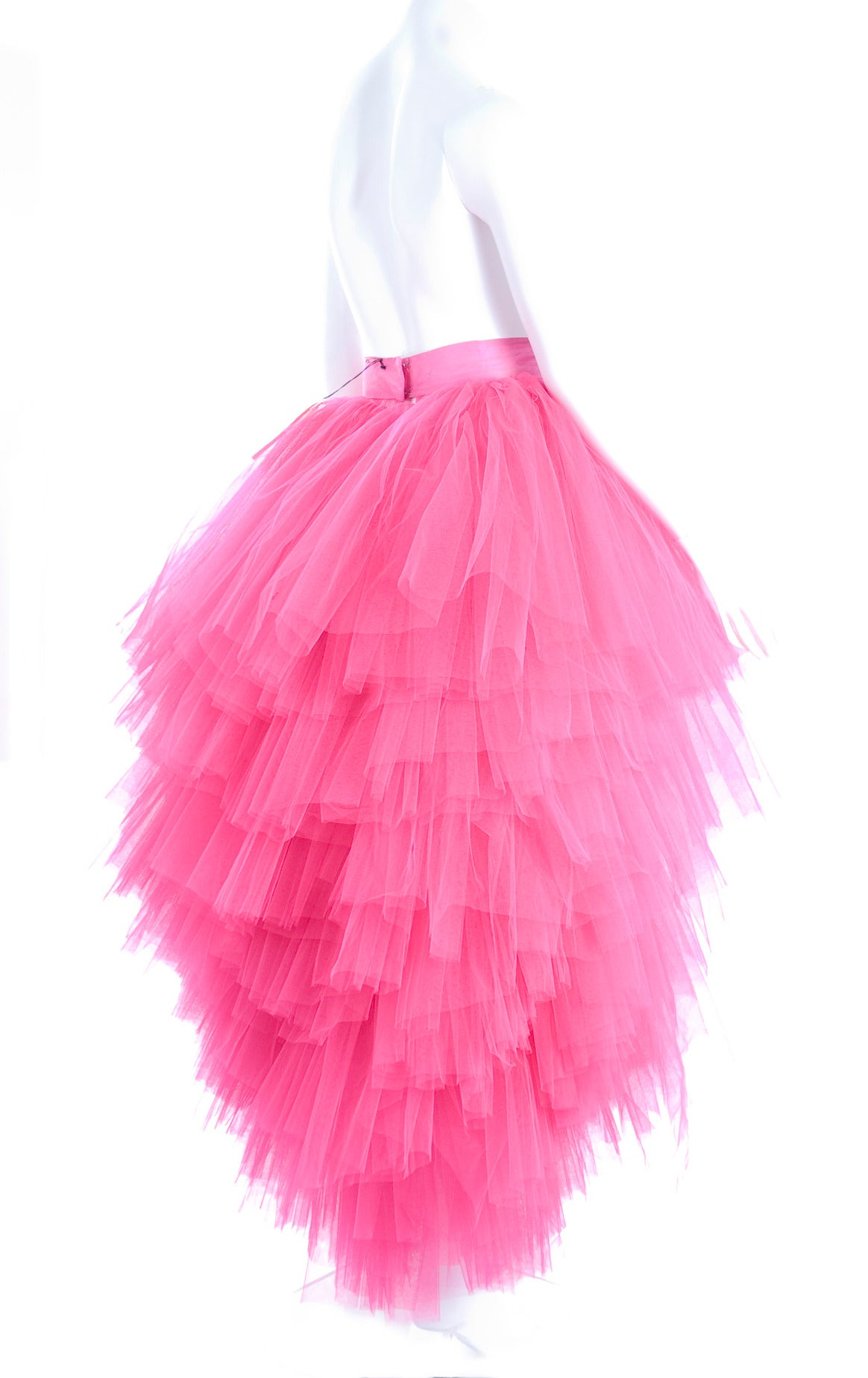 All About Eve Couture by Talbot Runhof Tulle Skirt 4