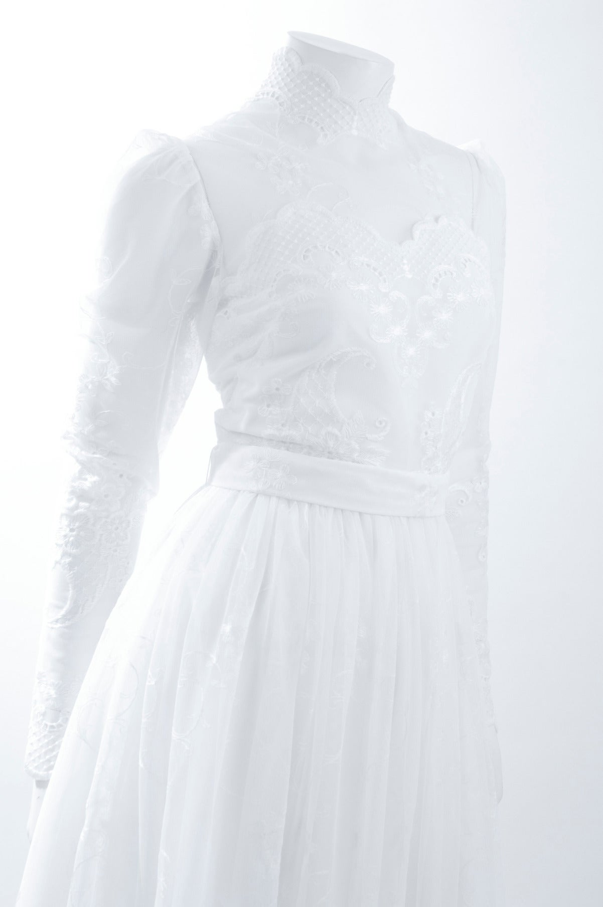 80's Jacques Heim Wedding Gown 3