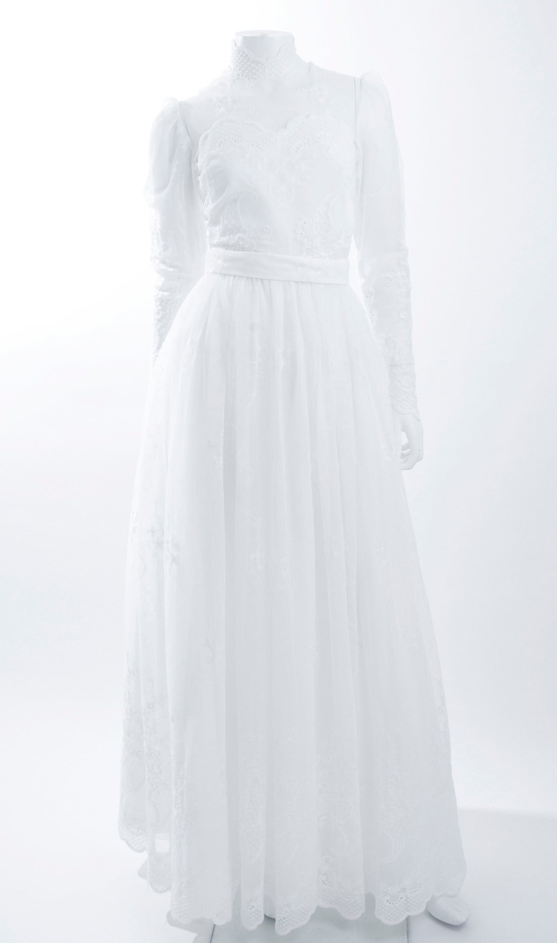 80's Jacques Heim Wedding Gown 4