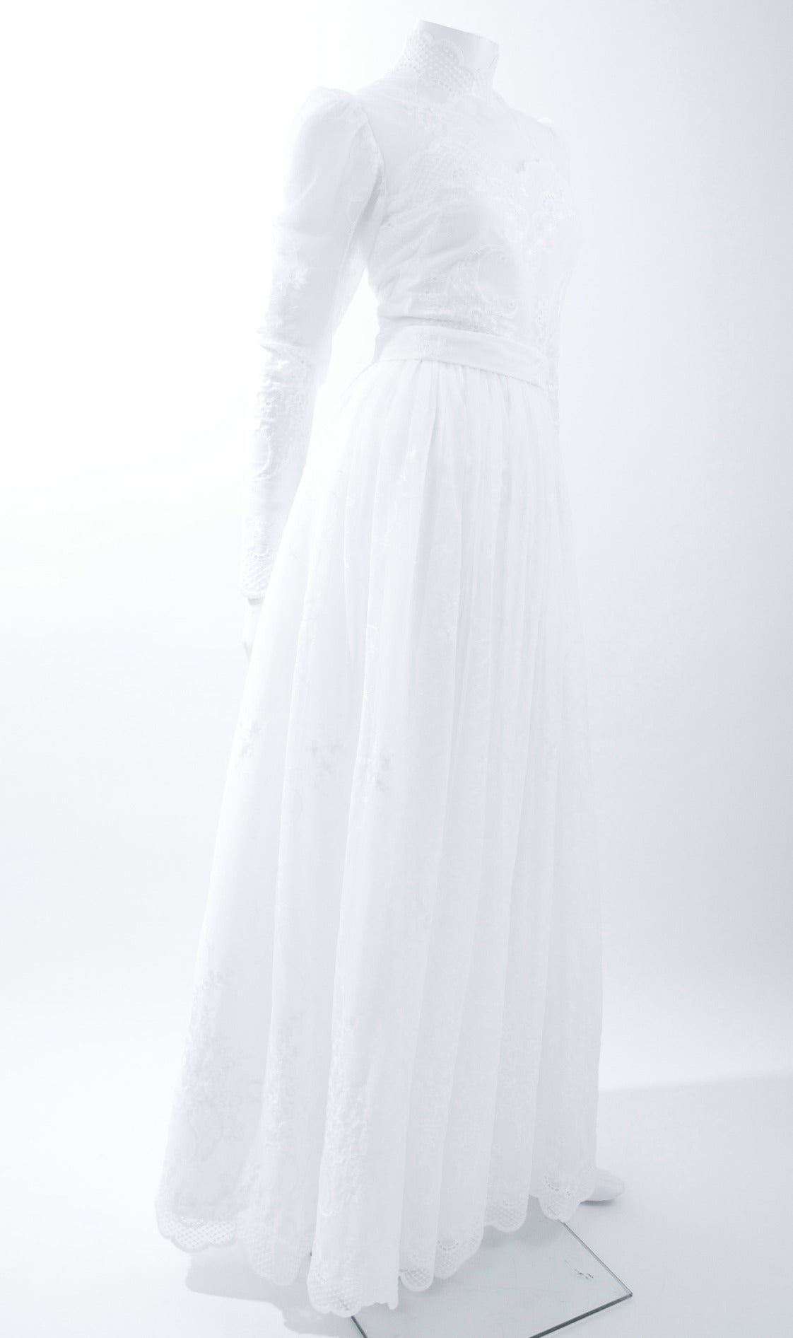 80's Jacques Heim Wedding Gown 8