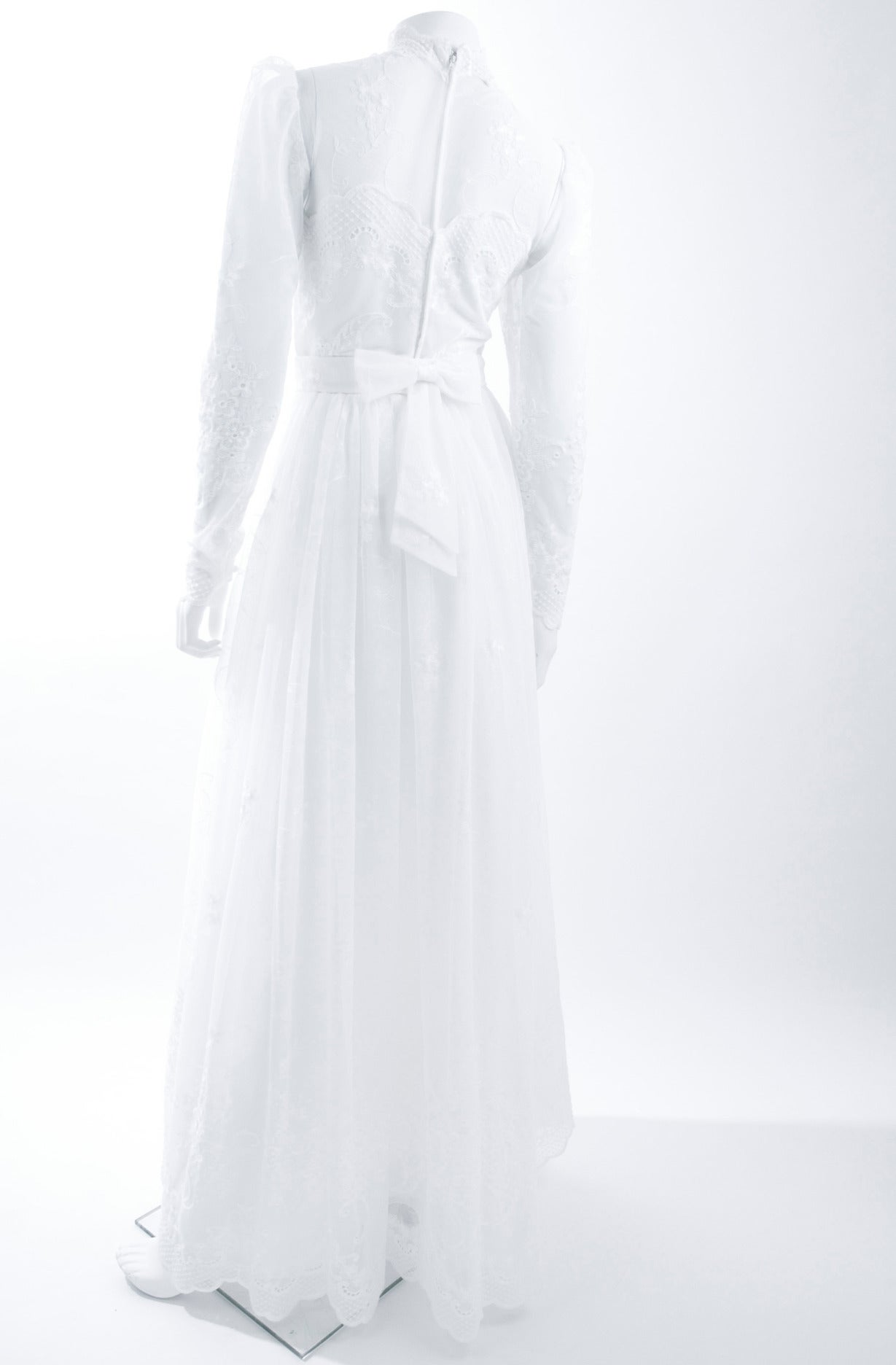 80's Jacques Heim Wedding Gown 9