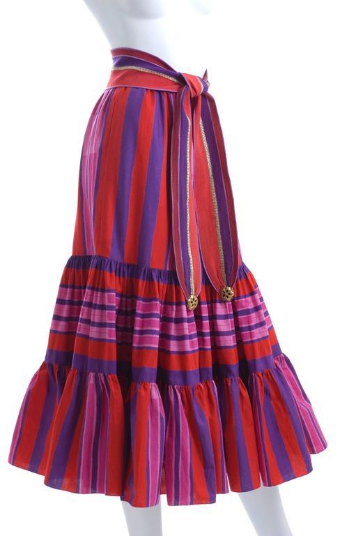 1979 Emanuel Ungaro Skirt and Belt 2
