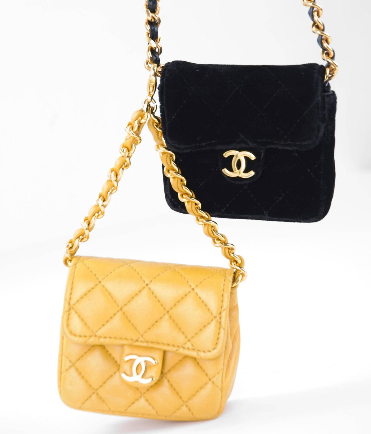 Chanel Micro Mini Flap Bag For Sale At 1stdibs