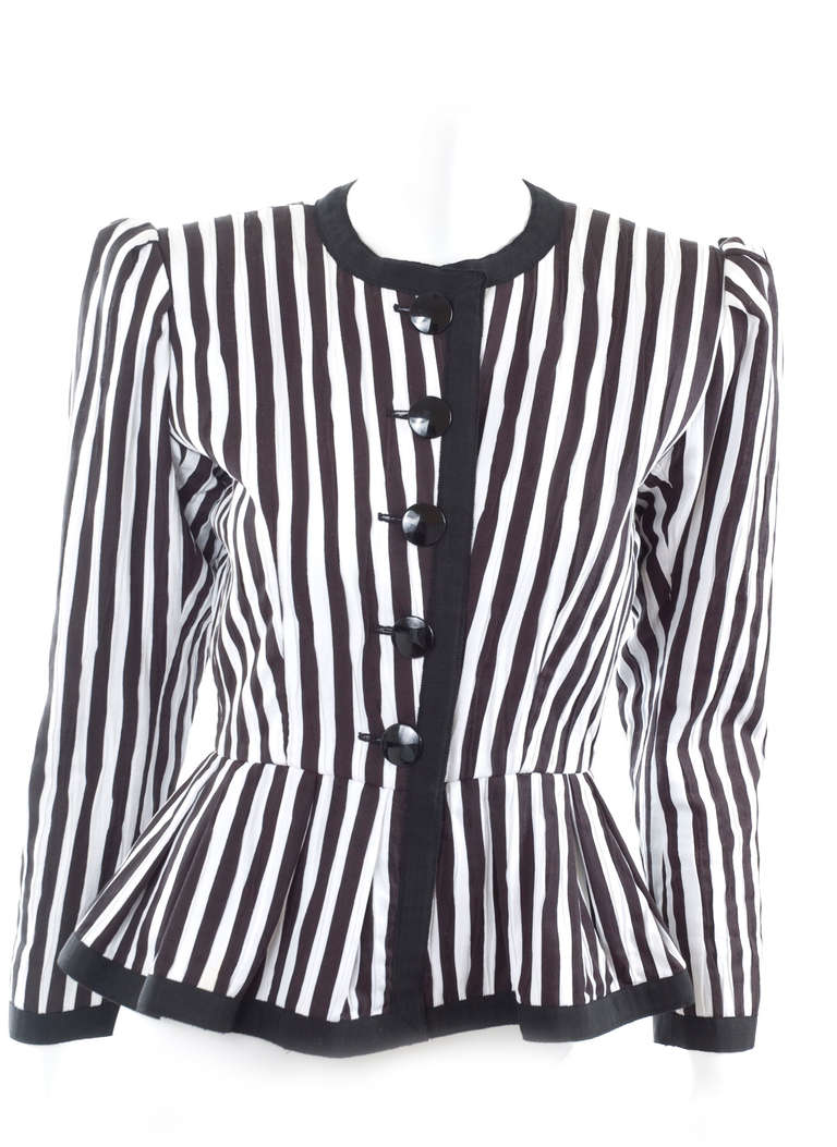 80's Yves Saint Laurent Jacket 2