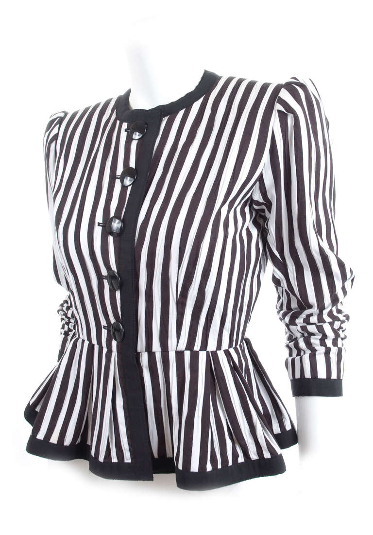 80's Yves Saint Laurent Jacket 3