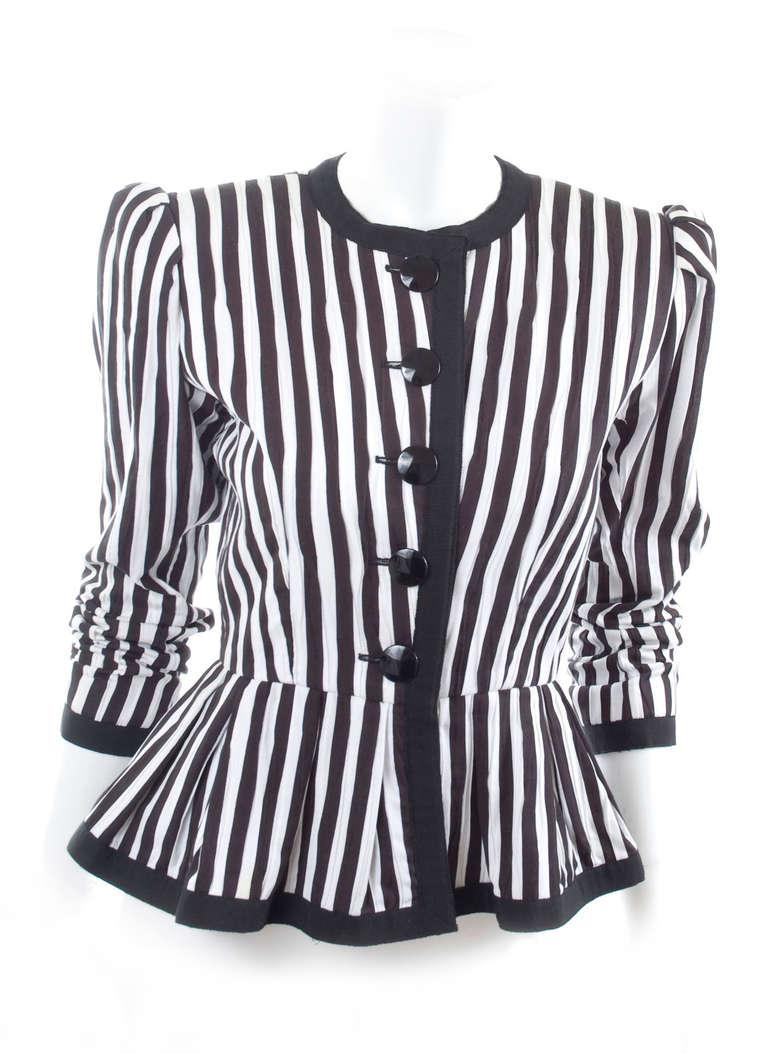 80's Yves Saint Laurent Jacket 6