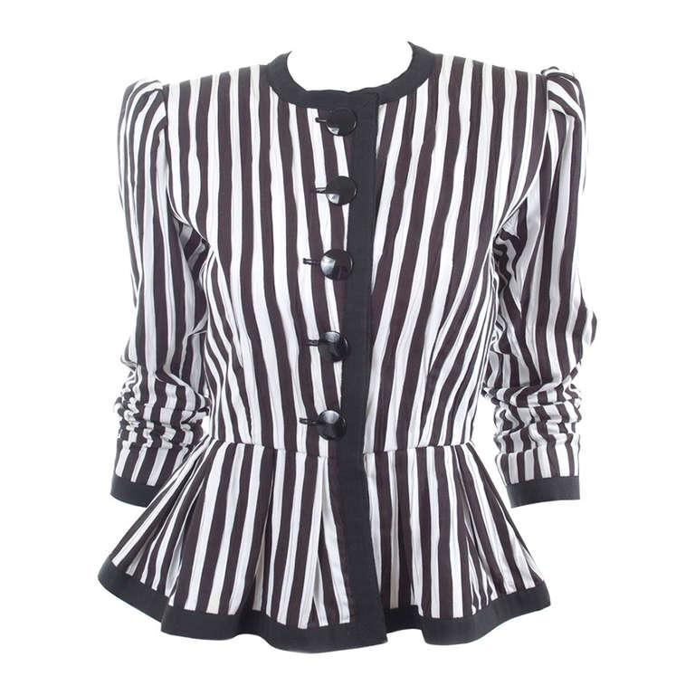 80's Yves Saint Laurent Jacket 1