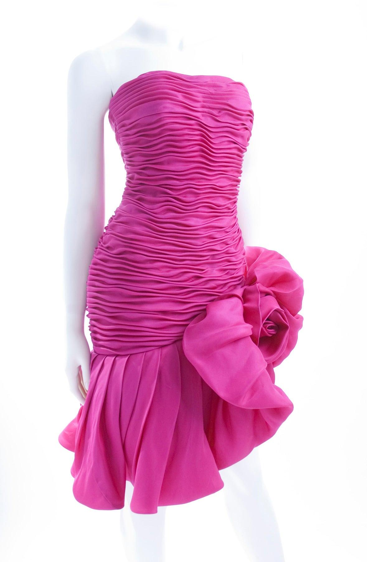 Emanuel Ungaro Parallele Paris Cocktail Dress 4
