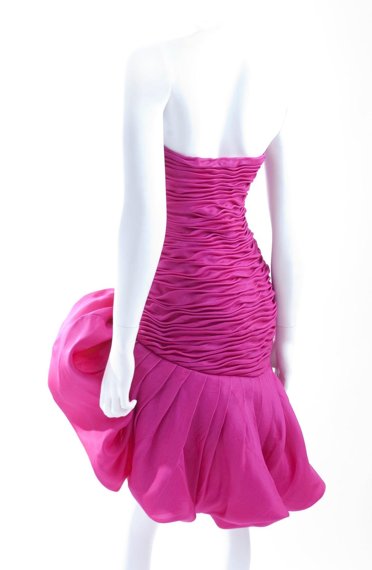 Emanuel Ungaro Parallele Paris Cocktail Dress 7