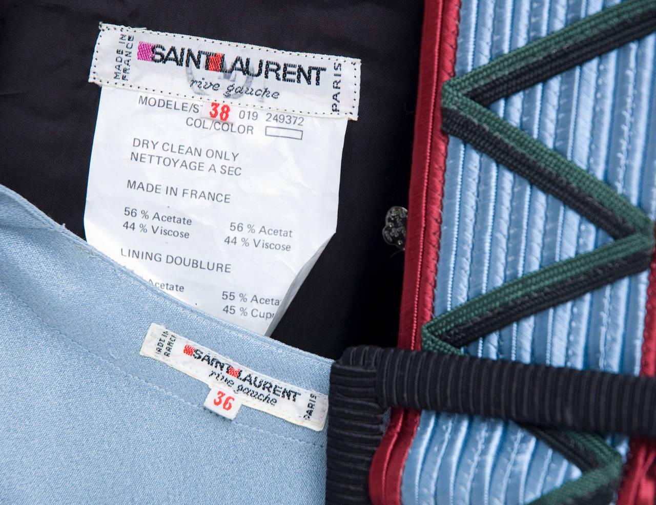 Yves Saint Laurent Ensemble For Sale 3