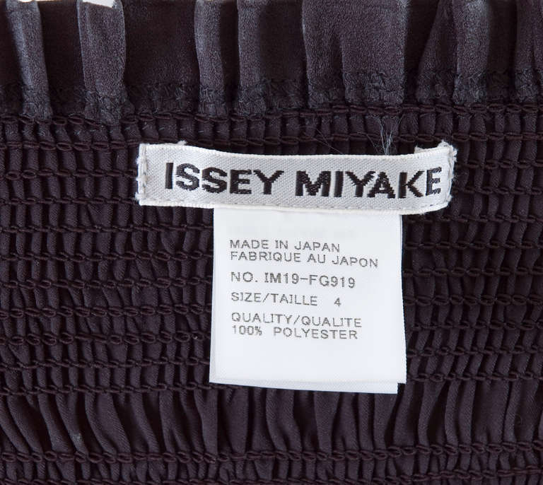 80's Issey Miyake Smocked and Pleated Dress or Long Skirt 6