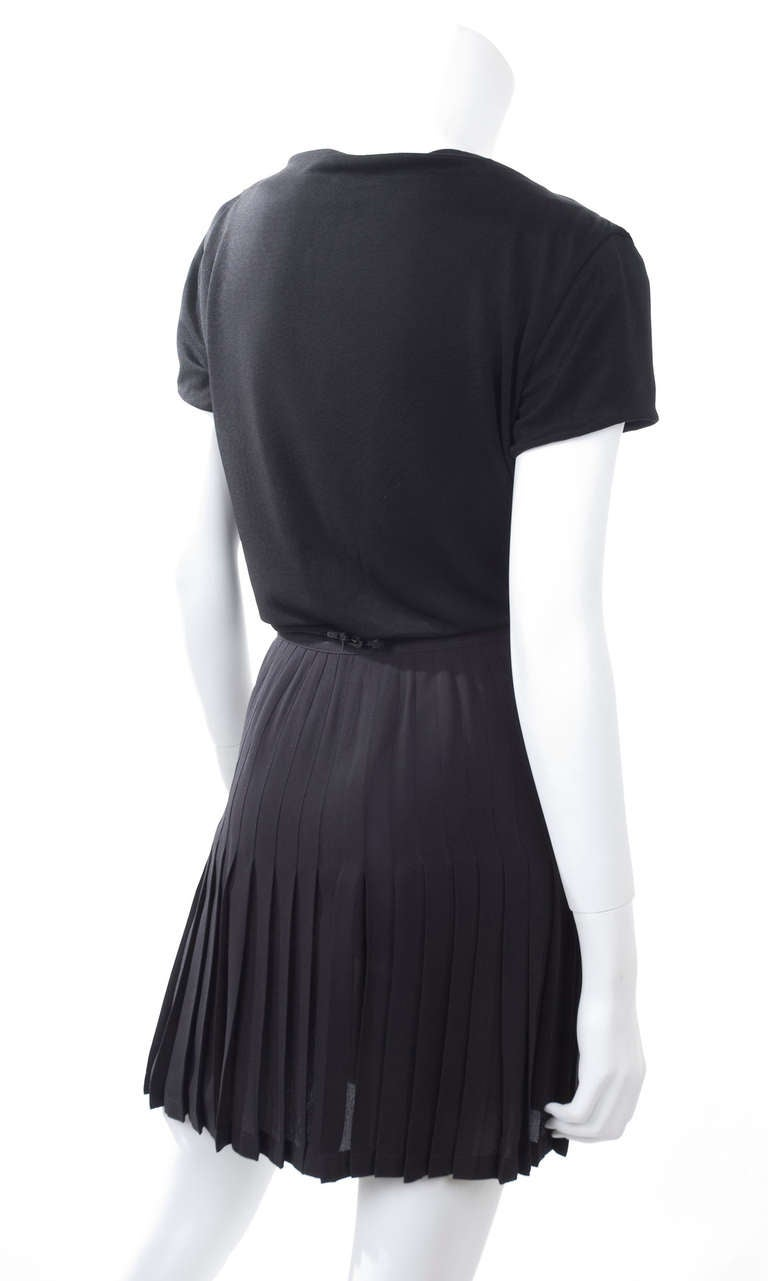 90's Gianni Versace Wrap Skirt and Top 4